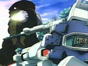 アッガイ-6連装ミサイルランチャー&メガ粒子砲